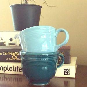 Fiesta ware mugs